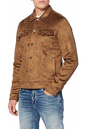 New Look Men's Faux Suede 6132381 Jacket