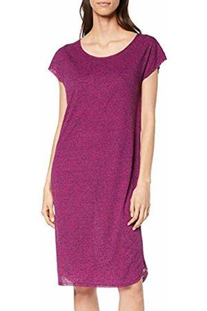 Selected Femme Women's SFIVY SS Knee Dress Violett Clover