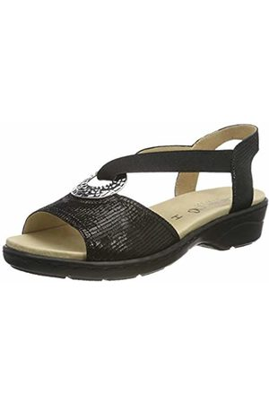 Caprice Women's Isolde Ankle Strap Sandals, ( Reptile 10)