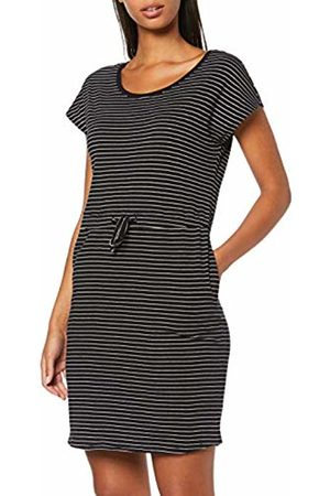 Vero Moda NOS Women's Vmapril Ss Short Dress Ga Noos ( Stripes: Snow-Rebecca)