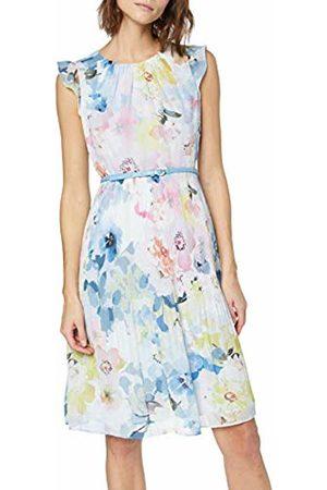 Comma, Women's 8t.904.82.7617 Dress (A AOP A) 8 (Size: 34)