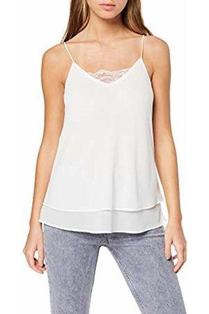 Pieces NOS Women's Pckaysa Lace Slip Top Noos Vest, Cloud Dancer