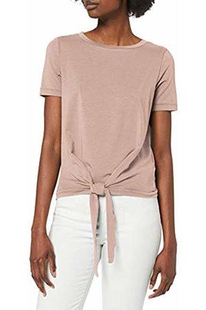 Object Women's Objstephanie Maxwell S/s Top Noos T-Shirt, Adobe Rose