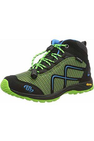 Bruetting Boys' Guide High Rise Hiking Shoes, Lemon/Schwarz/Blau