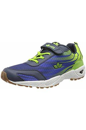 LICO Men's Ben VS Multisport Indoor Shoes, Blau/Lemon