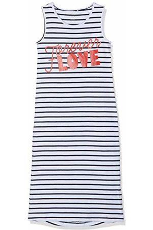 Name it Girl's Nkfvippa Sl Maxi Dress Noos Bright Print: Love Text