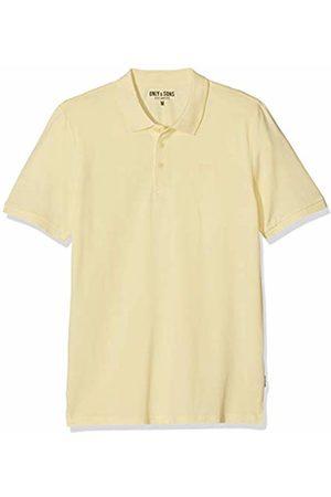 Only & Sons NOS Men's onsSCOTT Pique Polo NOOS Shirt, Gelb Mellow