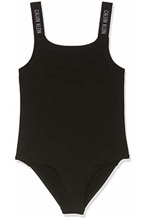 Calvin Klein Girl's Swimsuit, ( 001)