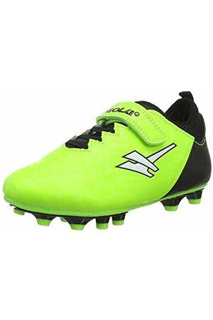 Gola Boys Alpha MLD Velcro Football Boots (Lime/ Nb) 8 (26 EU)