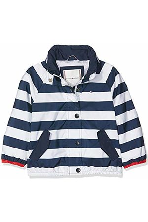 Tommy Hilfiger Baby Girls' Essential Stripe Printed Jacket (Bright 123)