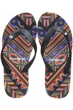 Desigual Shoes (lola_mexican), Women's Flip Flops, (Negro 2000)