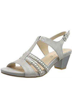 Caprice Women's Irina Ankle Strap Sandals, (Lt Sh.Sue 235)