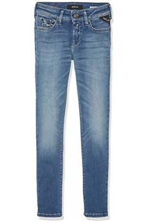 Replay Girls' SG9208.076.661 808 Jeans Blau (Denim 9) 12 Years