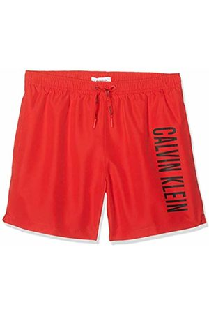 Calvin Klein Boy's Medium Drawstring Swim Trunks