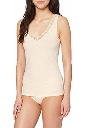 Hanro Women's Cotton Lace Top Vest