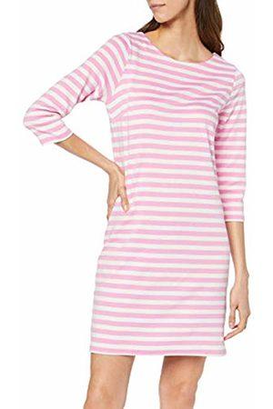 Vila Women's Vitinny New Dress-fav (Begonia Stripes: Snow H/H)