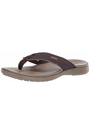 Crocs Men's Santa Cruz Canvas Flip Men Flip Flop