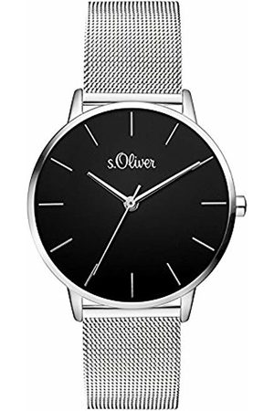 s.Oliver Womens Analogue Quartz Watch with Stainless Steel Strap SO-3529-MQ