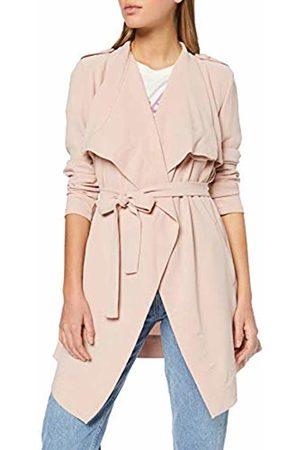 Object Women's Objannlee Short Jacket Noos Coat, Adobe Rose