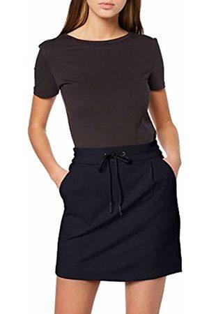 Vero Moda NOS Women's Vmeva Mr Short Skirt Noos Night Sky