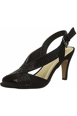 Lotus Women's Anya Open Toe Heels, ( BBK)
