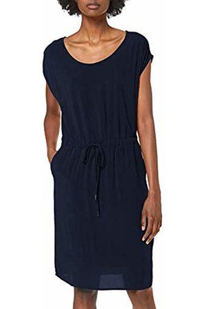Object Women's Objbay Dallas S/s Dress Noos Sky Captain