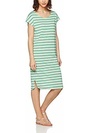 Selected Femme Women's SFIVY SS Knee Dress Mehrfarbig (Gumdrop Stripes: Snow )