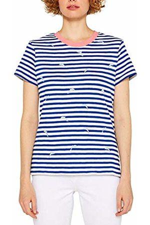 Esprit Women's 049CC1K027 T-Shirt, (Bright 410)