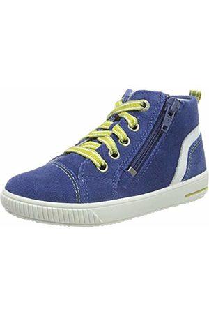 Superfit Baby Boys' Moppy Low-Top Sneakers (Blau/Weiss 80) 7 UK