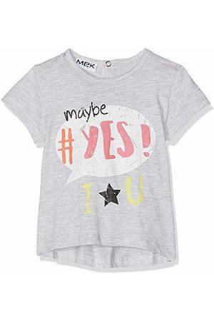 MEK Baby Girls T-Shirt Jersey M/c Kniited Tank Top (Grigio Melange 01 800) 74 (Size: 9M)