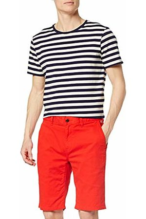Tommy Hilfiger Men's TJM Essential Chino Short Rot (Flame Scarlet 667)