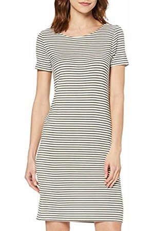 Pieces NOS Women's Pcbillo Ss Dress Noos (Bright Stripes: Olive Night)