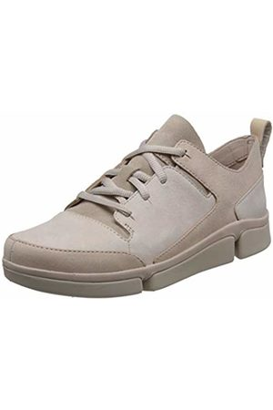 Clarks Tri Turn Nubuck Shoes in Standard Fit Size 4