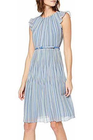 Comma, Women's 8t.904.82.7617 Dress Multi Stripes 53s4