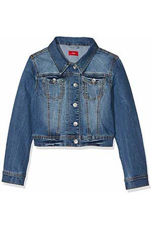 s.Oliver Girls Denim Jackets - Girls' 73.903.51.5026 Jacket Blau ( Denim Stretch 55z7) 10 Years