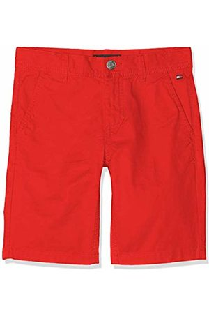 Tommy Hilfiger Boy's Essential Twill New Chino Short (Flame Scarlet 633)