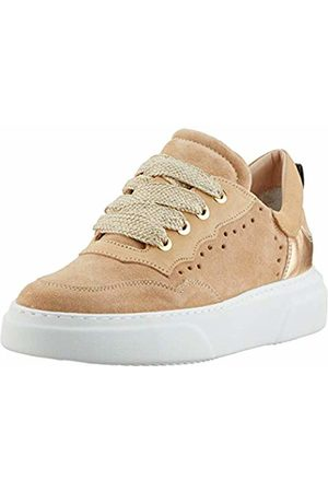 Maripe Women's 28463 Low-Top Sneakers, (Velour Avana-VAR.08) 9