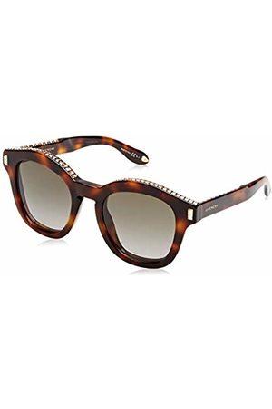 Givenchy Women's 7070/S HA GV 7070/S HA 086 Rectangular Sunglasses 50