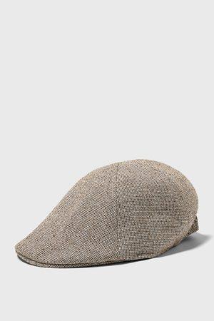 Zara Elastic flat cap