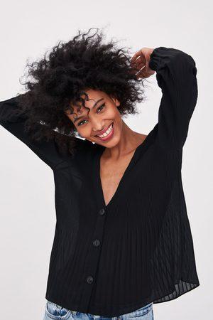 Zara Pleated shirt