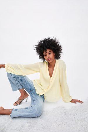 322327e539ae9f Zara pleated women s shirts   blouses