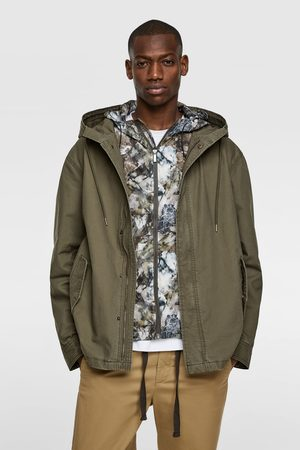 Zara Hooded parka