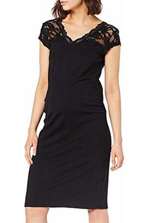 Mama Licious Women's Mlblackie Mivana Cap Dress