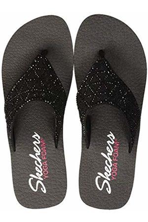 Skechers Women's Vinyasa-Glass Star Open Toe Sandals, ( BBK)