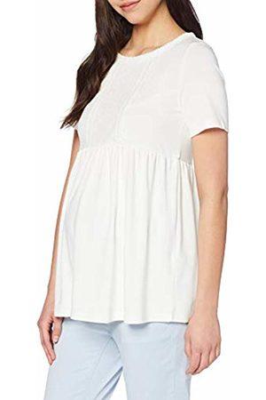c827d7fa0 Mama Licious Women s Mljacquelin 2 4 Jersey Top O. Maternity Vest Snow