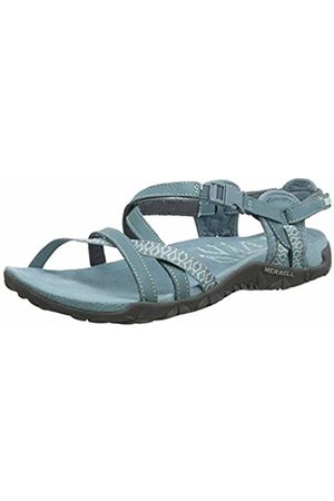 Merrell Women's Terran Lattice Ii Ankle Strap Sandals Smoke