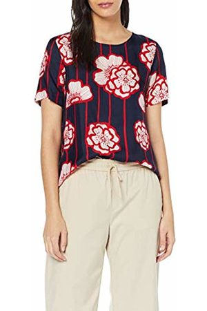 Seidensticker Women's Shirtbluse Kurzarm Modern Fit Blumendruck Blouse