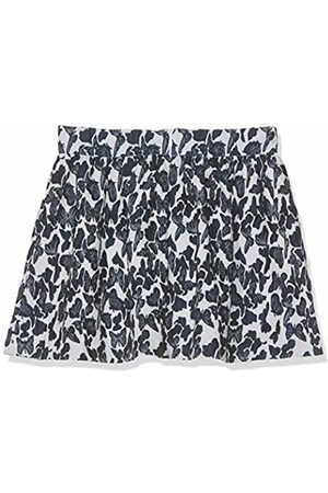 Benetton Girl's Skirt (Bianco/Blu/Allover 901)