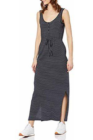 Vero Moda NOS Women's Vmdaina Dress Noos (Night Sky Stripes: Narrow Snow ) 10 (Size: Small)