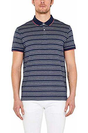 Esprit Men's 049ee2k011 Polo Shirt (Navy 400) Large